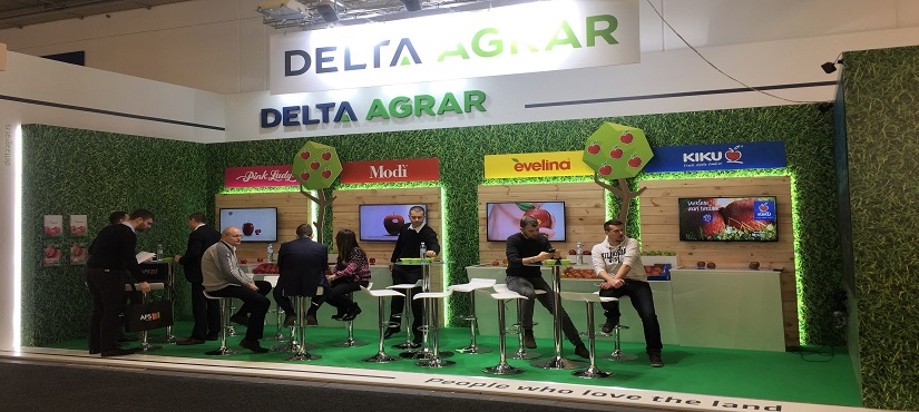 Delta Agrar at the largest fair of fruit and vegetables in Europe again this year